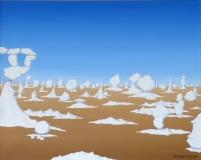 Weise Wüste